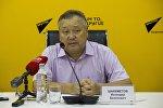 Тез кызматынын башкы дарыгери Искендер Шаяхметов Sputnik Кыргызстан радиосунда