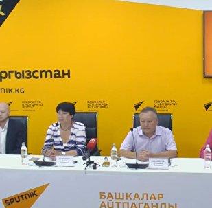 Работу скорой помощи Бишкека обсудили в пресс-центре Sputnik Кыргызстан