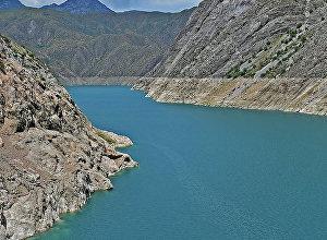 Река Нарын в Кыргызстане