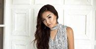 20-летняя модель Бегимай Назарова, которая представит Кыргызстан в конкурсе красоты Мисс Земля — 2017