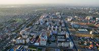 Вид на микрорайон в Бишкеке. Архивное фото