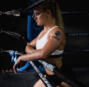 Кыргызстанский боец UFC, тайбоксер Валентина Шевченко. Архивное фото