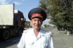 Сотрудник УВД Балыкчи Талант Жумабеков