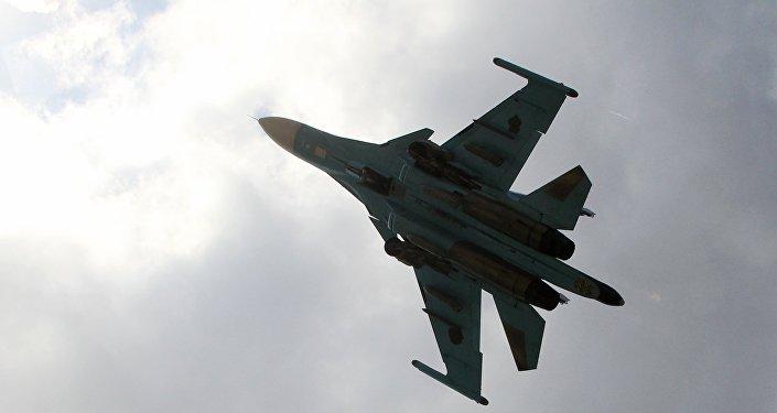 Россиянын Су-34 учагы. Архивдик сүрөтү