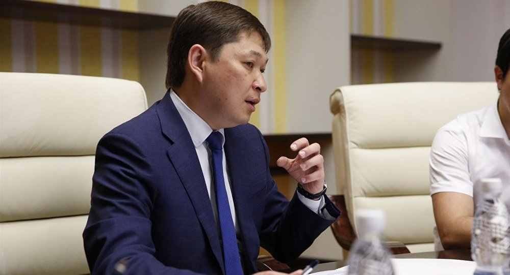 Премьер-министр КР Сапар Исаков. Архивное фото