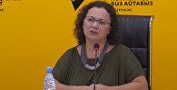 Проблемы модельного бизнеса обсудили в пресс-центре Sputnik Кыргызстан