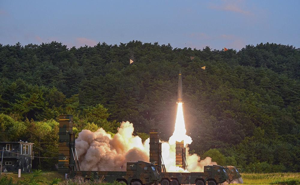 АКШ менен Түштүк Кореянын биргелешкен машыгуусунда Hyunmoo II баллистикалык ракетасы учурулду