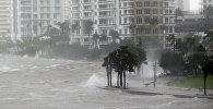 АКШдагы  ураган. Архивдик сүрөт