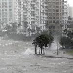АКШнын Майами жээктерин Ирма бороону басты. Анын кесепетинен Флорида штатындагы 270 миңдей киши жарыксыз калды