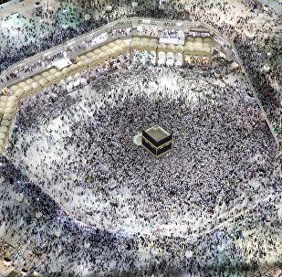 Мекке шаарындагы Аль-Харам мечити. Архив