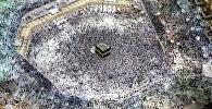 Ажылыкка келген мусулмандар. Архивдик сүрөт