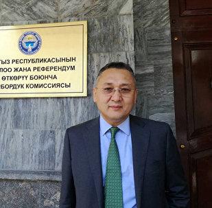 Кандидат в президенты Кыргызстана Таалатбек Масадыков