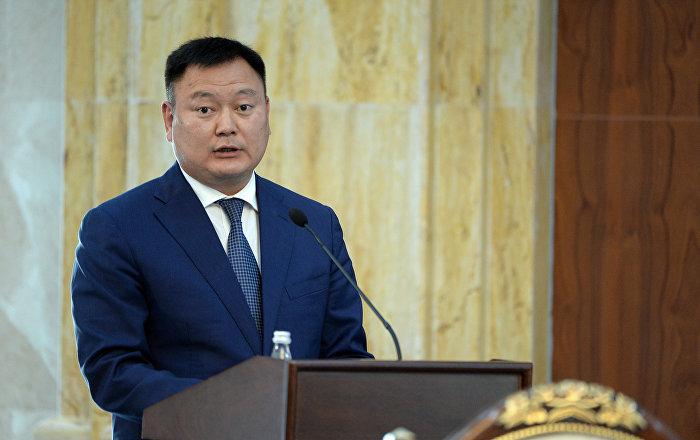 Вице-премьер-министр Дуйшенбек Зилалиев