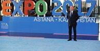Архивное фото президента Казахстана Нурсултана Назарбаева на открытии международной специализированной выставки Астана ЭКСПО 2017.