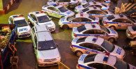Автомобили сотрудников ДПС Москвы. Архивное фото