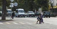 Соблюдение ПДД в Бишкеке