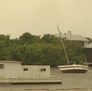 Яхты на суше и мощный ветер — ураган Ирма бушевал во Флориде