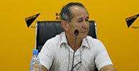 Кыргыз улуттук университетинин ага окутуучусу, археолог Орозбек Солтобаев