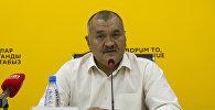 Археолог, тарыхчы, КТМУнун профессору Кубатбек Табалдыев. Архивдик сүрөт