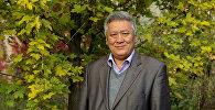 Архивное фото исполняющего обязанности директора Ботанического сада имени Гареева Медета Ахматова