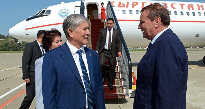 В рамках поездки запланирована его встреча с главой РФ Владимиром Путиным, на которой будут обсуждаться актуальные вопросы двустороннего сотрудничества и взаимодействия сторон по линии ЕАЭС.
