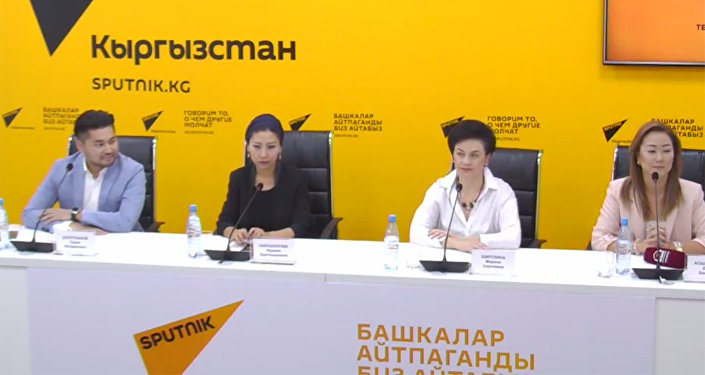 Вокальный проект Асман обсудили в МПЦ Sputnik Кыргызстан