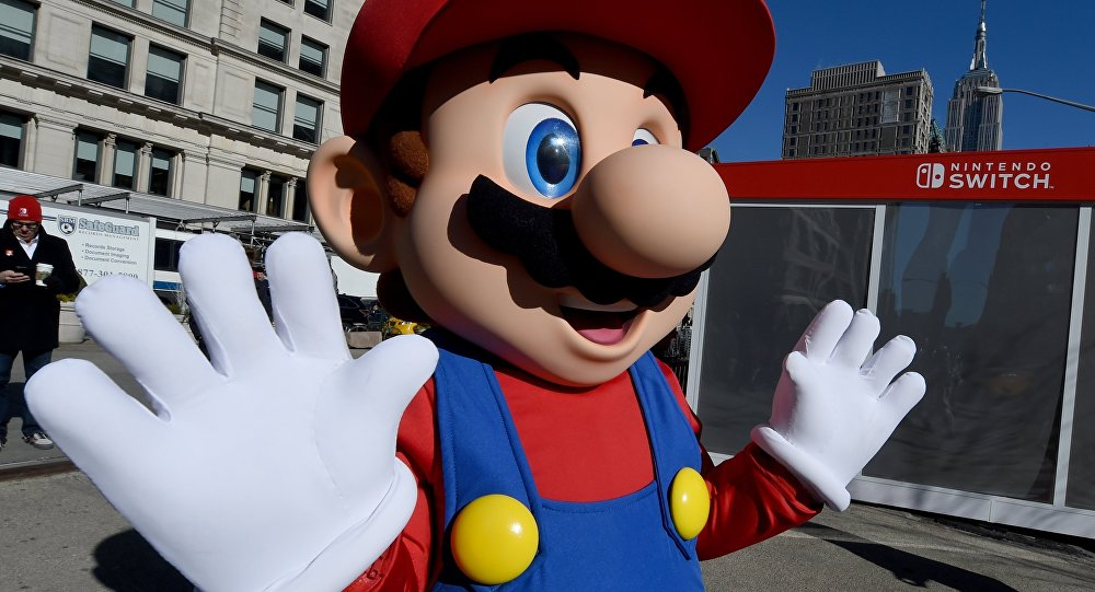 Super Mario. Архивное фото