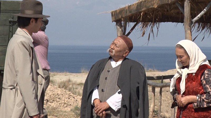 Кадр из фильма Саякбай,  режиссера Эрнеста Абдыжапарова
