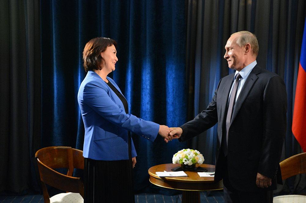 Интервью президента России Владимира Путина