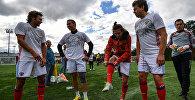 Фестиваль Россия любит футбол в Лужниках