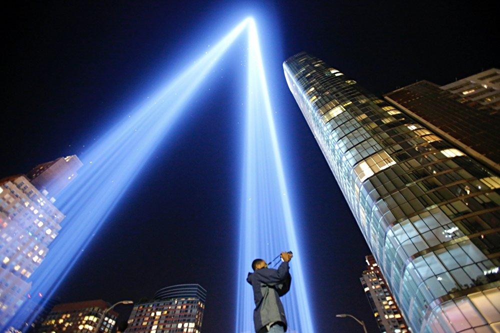 Годовщина терактов 11 сентября 2001 года в Нью-Йорке