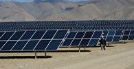 Солнечные батареи. Архивное фото