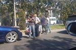 Наезд на пешехода произошел на пересечении улицы Разина и проспекта Чуй