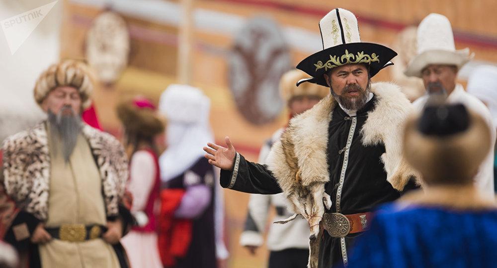 Учур театрынын актеру Жолдошбек Жанжигиттин архивдик сүрөтү