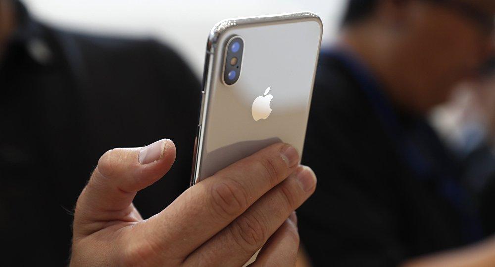Архивное фото телефона iPhone X