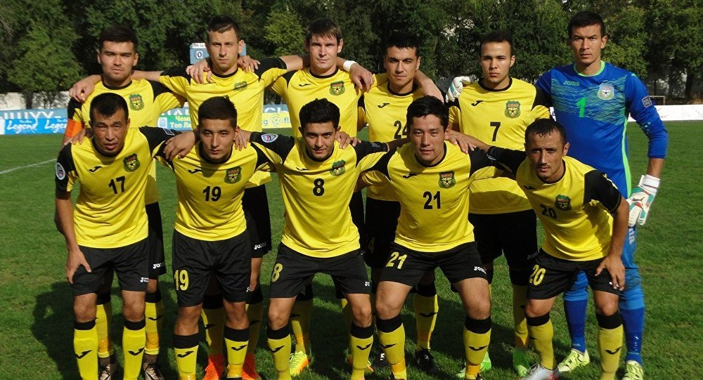 Архивное фото ошского футбольного клуба Алай