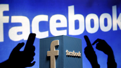 Логотип социальной сети Facebook. Архивное фото