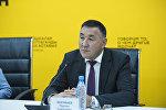 Бишкек мэриясынын Капиталдык курулуш башкармалыгынын башчысы Нурлан Эшенбаев