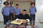 Актер Стивен Сигал посетил академию МВД имени генерал-майора милиции Алиева Э.А.