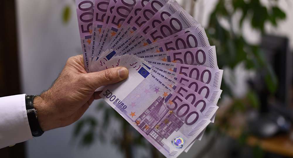 Евро купюралары. Архив