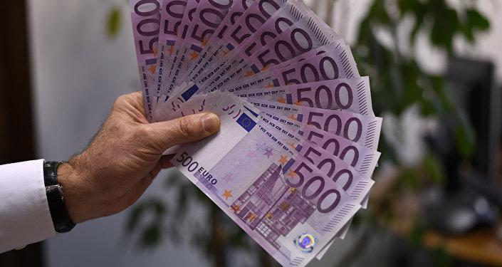 500 евро купюралары. Архив