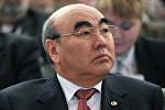 Архивное фото бывшего президента Кыргызстана Аскара Акаева