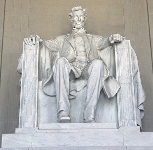 АКШдагы Авраам Линкольндун мемориалынын архивдик сүрөтү