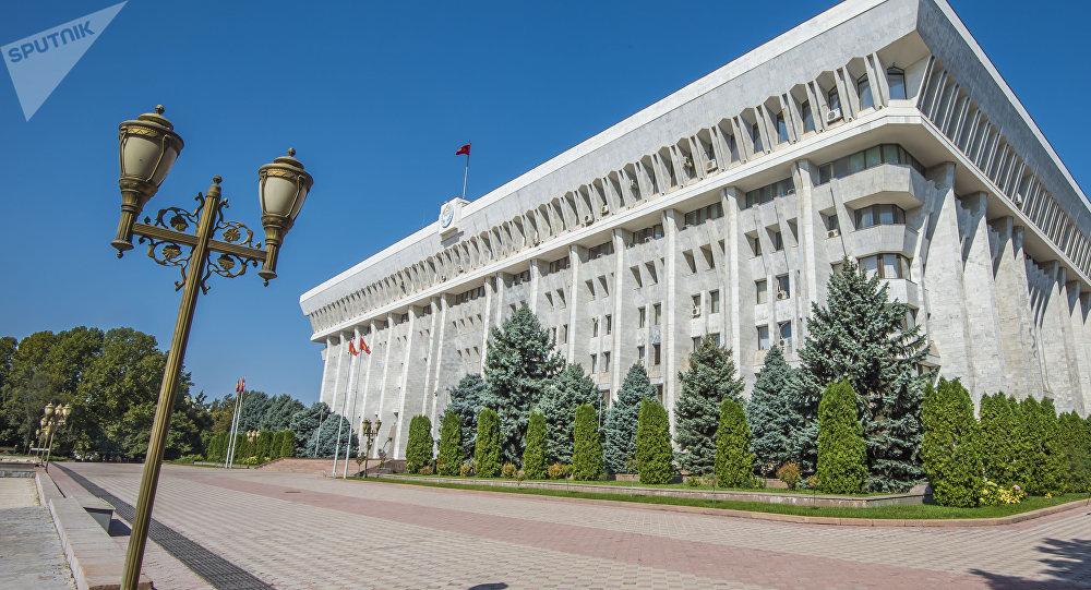 Здание Жогорку Кенеша в Бишкеке. Архивное фото