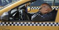 Водители такси. Архивное фото