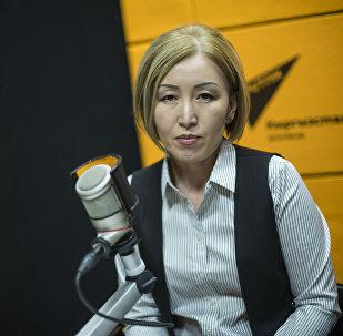 Заместитель председателя Социального фонда КР Гульнура Джуматаева