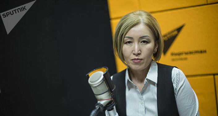 Член правления Социального фонда КР, заместитель председателя Социального фонда КР Гульнура Джуматаева