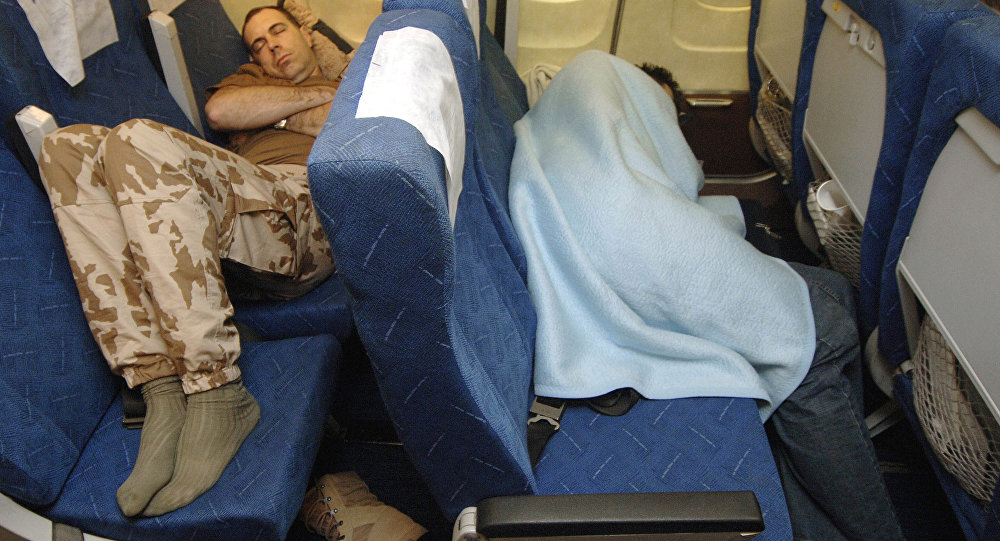 Спать всамолете опасно для здоровья, уверяют ученые
