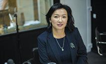 Премьер-министр Сапар Исаковдун кеңешчиси Бермет Турсункулова маек учрунда