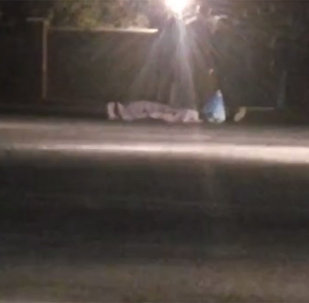 Бишкектин четинде машина коюп кеткен адам көз жумду. Кырсыктын видеосу